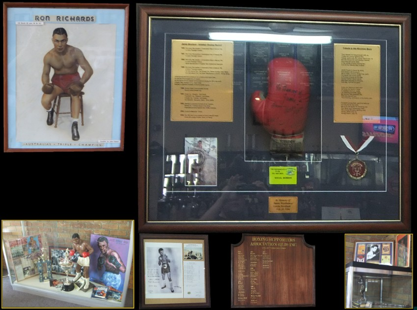 The Showmens Guild of Australasia Boxing Hall of Fame Memorabilia
